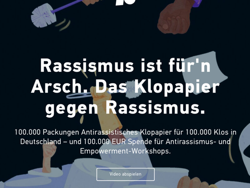 Antirassistisches Klopapier