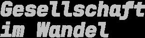 Gesellschaft im Wandel Logo
